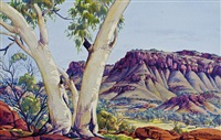 untitled by albert namatjira