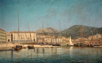 le port de nice by joanny arlin