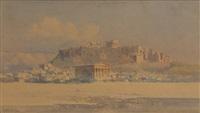 vue de l'acropole by angelos giallina