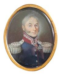 portret generala brygady wojska polskiego z okresu królestwa polskiego by jan (józef) haar