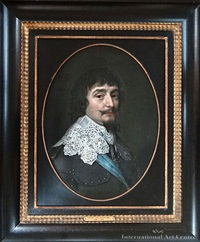 portrait of frederick v, king of bohemia, elector palatine by gerrit van honthorst