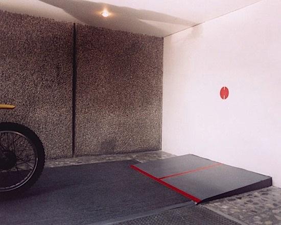 emergency exit 2 (triptych) by gustavo artigas