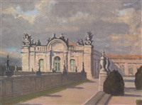 palace of queluz, portugal by earl, field marshal (of tunis) alexander