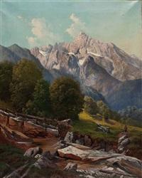 tal im hochgebirge by max bumüller