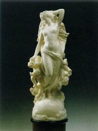 female nude with putti by giulio tadolini