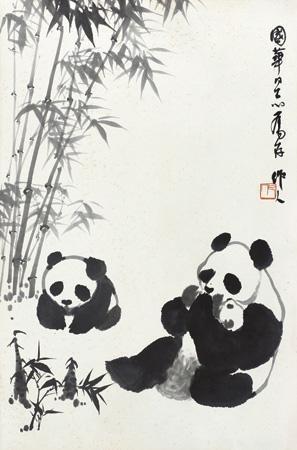 熊猫 panda by wu zuoren