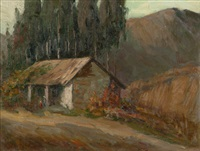 the old adobe by kathryn woodman leighton