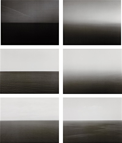 time exposed complete set of 51 works by hiroshi sugimoto