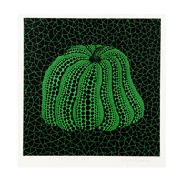 pumpkin (gsq) by yayoi kusama