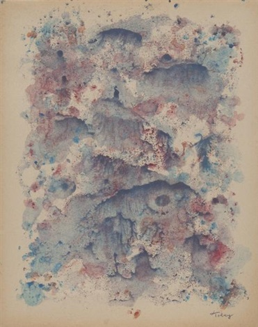 sans titre by mark tobey