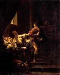 joseph et la femme de putiphar by hendrik heerschop