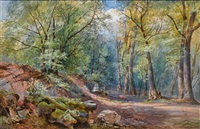 in leigh woods, clifton, bristol by charles branwhite