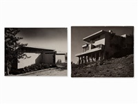 signed, usa (2 works) by julius shulman