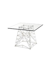 a pylon table by tom dixon