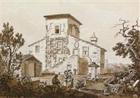 ruderi presso l'antica villa by carlo labruzzi