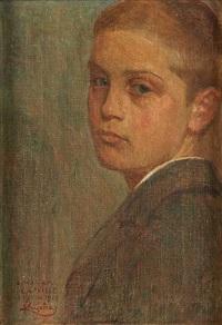 portrait de camille (présumé renaud) by frantisek kupka