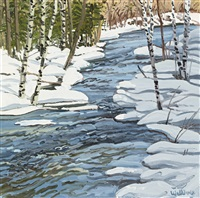 duck pond trap (24 works) by neil welliver