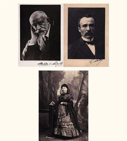 emile augier 8 others 9 works by paul nadar