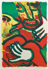 la grande fête (portfolio of 10) by bengt lindström