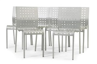 suite de six chaises modèle mirandolina by pietro arosio