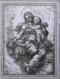 the madonna and child by stefano dall' arzere