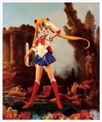 pretty solider: sailor moon by hong donglu