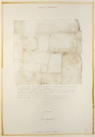 journal de l'archéologue, mnemosyne by anne and patrick poirier