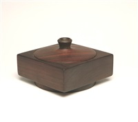 lidded box by milon hutchinson