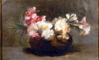 still life with flowers by hermann dudley murphy