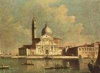 the church of san giorgio maggiore in venice by francesco tironi