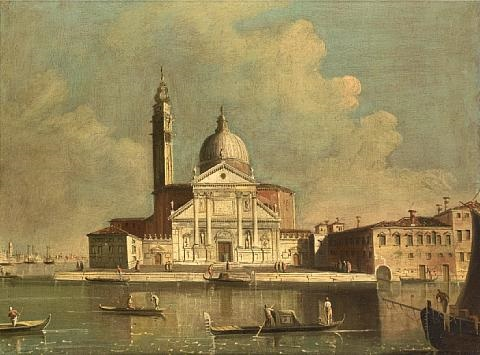 the church of san giorgio maggiore in venice by francesco tironi