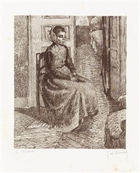 petite bonne flamande by george w. thornley and camille pissarro