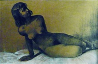 jeune femme nue by pierre dunand