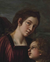 a lady and a child by cavaliere giovanni baglione