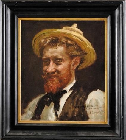 portrait de bouton dor by fernand cormon