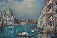 venezia, chiesa della salute by erma zago
