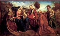 sacra conversazione by boccacio boccaccino