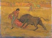 la corrida, esprit et matière by paul scortesco