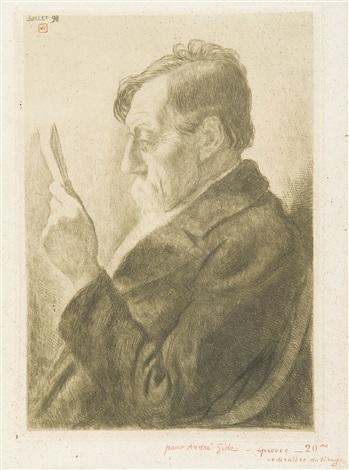 emile verhaeren lisant by théo van rysselberghe