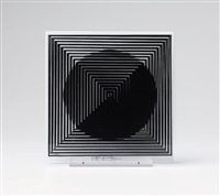 11 + 1 (13 works) by victor vasarely