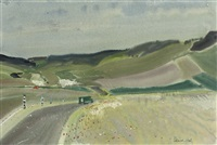 the road through pas-de-calais by patrick hall