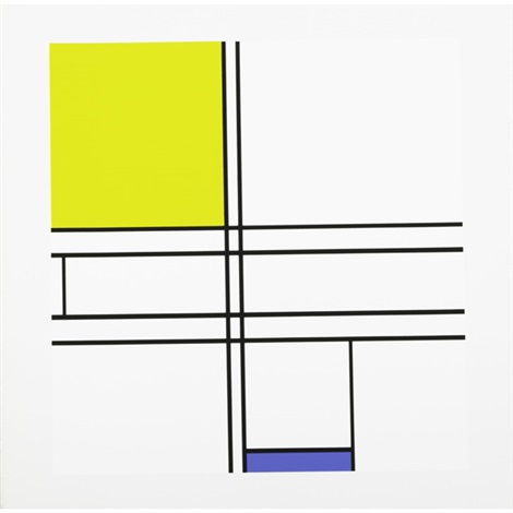 jazz and neoplasticism portfolio of 10 by piet mondrian