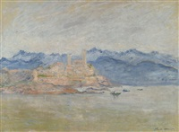 le fort d'antibes by claude monet