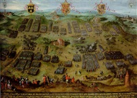 the battle of montcontour, 30 october 1569 by jan snellinck the elder