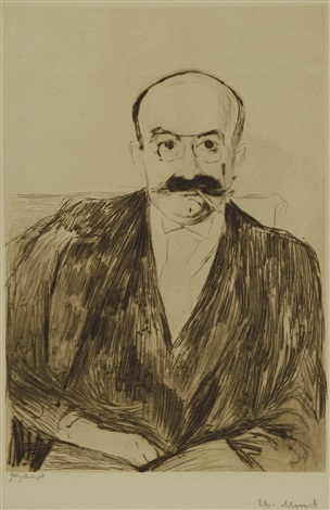 portrait of dr max asch by edvard munch