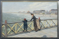 boardwalk by the sea by edward j. austen