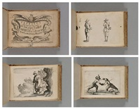 capricci di varie figure di jacopo callot (suite of 50) by jacques callot