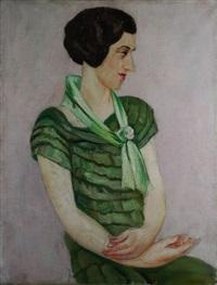 la robe verte by alfred gaspart