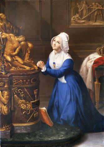 ritratto della venerabile maria clotilde di francia regina di sardegna by bernardino nocchi