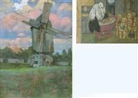 windmühle by walter zweigle